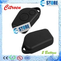 Wholesale 2 Buttons Remote Blank Key Shell for Citroen Car Key Cover for Replacement Packaged with PE bag DHL Free A