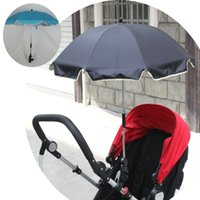 beach umbrella baby - New Summer Baby Stroller Umbrella Kids Beach Umbrella Stroller Accessories Pram Shade Parasol Safest Fiber Frame