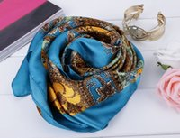 Wholesale 2014 Fashion Style Women Shawl Scarfs New Silk Scarf Scarves Women Shawl Head scarf Square Scarf