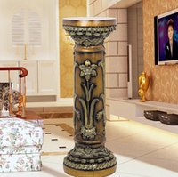 Wholesale New home living room European style home accessories decorative Roman style flower swing Stand Telephone Stand flower bed