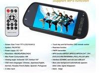 "Cheap 2015 free Shipping 7"" Tft Lcd Mirror Monitor + Mini Wireless Sensor Reversing Parking Camera 170 Degree Angle Car Rear View Kit Gt-705c"