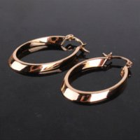 antique jewelry earing - New Arrival Woman Hoop Earrings k Gold Plated Snap Closure Antique Earing High Quality Jewelry E408b