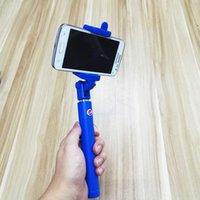 pepsi - Pepsi Extendable Aluminium Handheld Phone Holder Selfie Sticks Selfie Monopod Wireless Bluetooth Remote Shutter Control for IOS Android