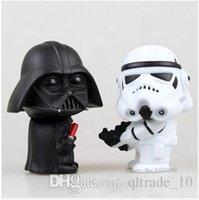 Wholesale 60pcs CCA1935 Hot New Star Wars Figures toy SET Black Knight Darth Vader Stormtrooper PVC Action Figures DIY Educational TOYS