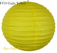 antique paper lanterns - Deal quot cm Lemon Yellow Indoor Decorative Paper Lantern With Iron Support Party Wedding Decorations Colors