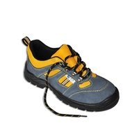 Wholesale LA1268 Suede leather safety shoes steel toe cap steel plate midsole