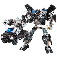 Wholesale Brinquedos Transformation Ironhide Optimus Prime Deformation Robots Juguetes Car Action Figures Classic Toys Boy Birthday Gift
