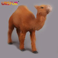 Wholesale Kawaii Toy Store Plush Simulation Animal Doll Children S Toys Camel Dolls he new style Camel doll simulation animals