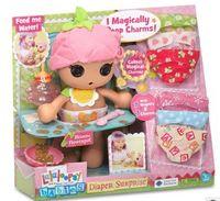 Wholesale 2015 New hot sale birthday gift Original cm mini Lalaloopsy Babies Diaper Surprise Peanut Big Top Doll