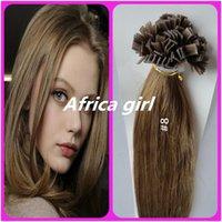 Cheap Peruvian remy Hair Best Flat Tip hair extension