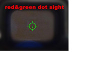 Wholesale holographic tactical HJ red and green Tri dot red dot sight airsoft scope fits any mm rail