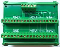 Wholesale DC V V V V Power Divider Wire Splitter Common terminal block DIN Rail Type