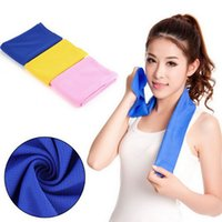 Wholesale Ice towel cm multifunctional cooling summer ice towels Cool scarf Ice belt Icy Absorbent towel Cooling Towel Drop Shipping