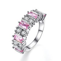 beautiful rings for women - Luxury design sterling silver rings with AAA zircon finger Fashion Jewelry beautiful wedding gift for woman