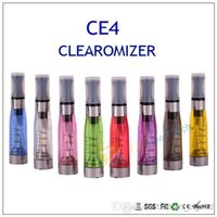 atomizers - 100pcs available e cigarette ce4 atomizers tank for ego ce4 kit ml ego ce4 clearomizers for via DHL