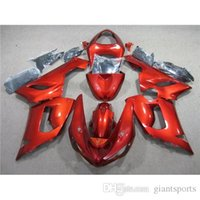 zx6r fairing - ZX6R Fairing Set For Kawasaki ZX R Motorcycle Bodywork Ninja Glossy Red Painting Motrobike Cowling Customized