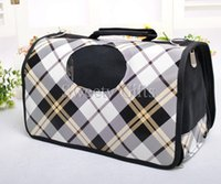 Wholesale Hot Sale Cat Carrier Hand Bag Dirty Proof Ventilated Light Travel Tote Nylon Fabric