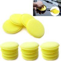 Wholesale 120pcs Waxing Polish Wax Foam Sponge Applicator Pads Clean Car Glass Cheap Cleaner