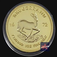 Wholesale South Africa Year Krugerrand souvenir coin Gold Plated Coin Commemorative coin