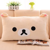 Wholesale fashion super popular three dimensional cartoon comfortable pillow cover high quality short plush pillow cases
