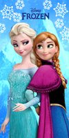 Wholesale Frozen beach towel elsa anna olaf kids girls boys towel beach towel