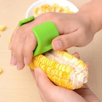 Wholesale Top Sale Practical Kitchen Tools Corn Stripper Mini Corn Separator Convenience Quick Shelling Device Color Random