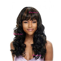 Cheap Hair Wigs Long Curly Synthetic Hair High Quality European and American Women Hair Wigs with Bangs New Hot G0060