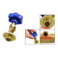 Wholesale x New g Blue Plastic Cap mm Threaded R134 Refrigerant Can Tap Valve Opener order lt no track