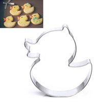 baking duck - Stainless Steel Duck Shape Cake Cookie Cutter Home DIY Biscuit Pastry Mould Kitchen Baking Tool Party Decor