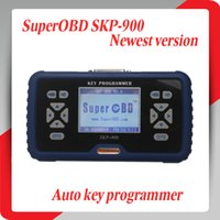 Wholesale 2014 New Arrival SuperOBD SKP Hand held OBD2 Auto Key Programmer SKP900 DHL