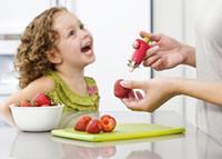 Wholesale DHL Strawberry Stem Leaf Leaves Huller Remover Removal Fruit Corer Tool Kitchen Gadgets Cutter Red Color