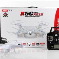 qualité supérieure Syma x5C 2.4G Hz RC Drones avec appareil photo 2MP et boîte de couleur de détail