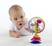 bath toy water wheel - Play water windmill Wheel Baby infant Multi touch Inspire Senses bath fun Toy bathroom shower Wash water ferris wheel toy gift play house