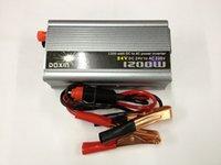 Wholesale 1200W V DC V to AC V car power inverter car power switch vehicle inverter