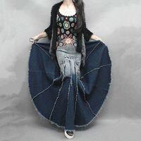 Wholesale Long Denim Skirts For Women - Buy Cheap Long Denim ...