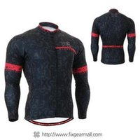 Wholesale 2014 men s thermal cycling Jersey sets with long sleeve bike top bib pants in cycling clothing breathable bicycle wear