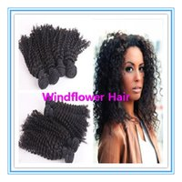 Malaysian Hair Curly Under $50 6A Unprocessed Malaysian Curly Hair Bundles 4pcs lot Malaysian Kinky Curly Virgin Hair 8-28Inch Afro Curly Human Hair Extension