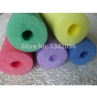 pool noodles - 1pc Swimming Water Noodle Pool Noodle Hollow Inside Kids Adults Exercise Aids Float Therapy Exercise Soft Foam Bar x2x150cm