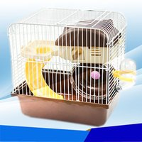 Wholesale 2015 New Free transportation Multicolor hamster cage Super Habitat Cage For The cage cm
