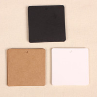 Wholesale square cm gsm paper note cardboard hangtag with garment or jeans hangtag