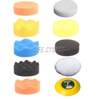 Wholesale 10Pcs quot mm Buffing Pad Polishing Pad Kit For Air Sander Thread