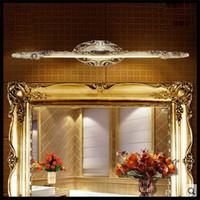 american kitchen cabinets - AC V V V V cm European resin LED mirror front lamps bathroom Kitchen cabinet led American vintage water fog proof light
