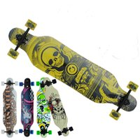 Wholesale Top quality skateboard longboard Wheels Canada Maple Skateboard Max Downhill skate board for adults kids cool