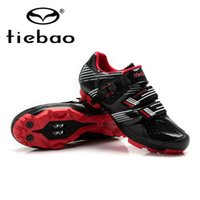 Wholesale TIEBAO shoes for bike scarpe bike mtb mountain MTB bike shoes for men cycle sneakers men athletic shoes mountain boots