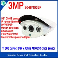 Wholesale Owlvision MP Network surveillance system IP Camera Email alarm outdoor security monitor ip camera