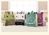 Wholesale Children s Girls Boys Metoon Plush backpacks Fashion cartoon animals accessories