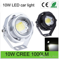 Wholesale Ultra Bright Waterproof IP67 LM W CREE DRL LED Eagle Eye Car Fog Daytime Running Reverse Backup Parking Light Lamp car headlights