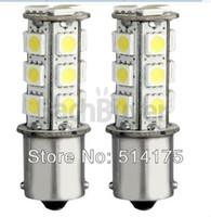 Wholesale 1156 BA15S White SMD LED Tail Stop Parking Light Bulb V Wholesales pieces order lt no track