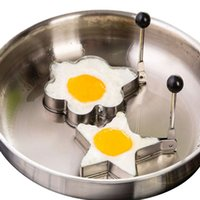 Wholesale Stainless Steel Fried Egg Mold Pancake Mold cooking tools Kitchen Tools Pancake Eggs Ring Cooking Egg Mold Egg tools