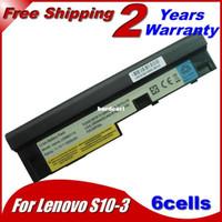 aon stock - Laptop Battery For Lenovo IdeaPad S100 S10 S110 S205 S205s U160 U165 M13 U165 AON S100c L09M3Z14